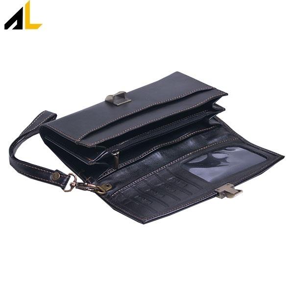 کیف پول مدل بنددار کد ALZ012
