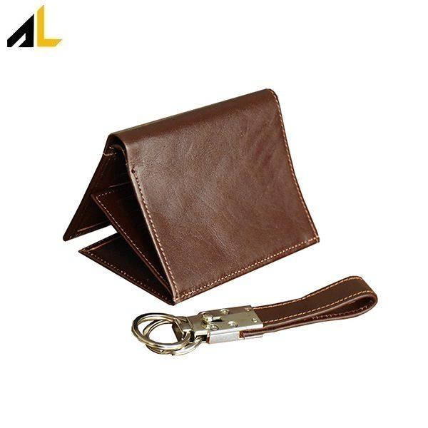 کیف پول جیبی به همراه جا کلیدی