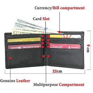 بخش های مختلف کیف پول
