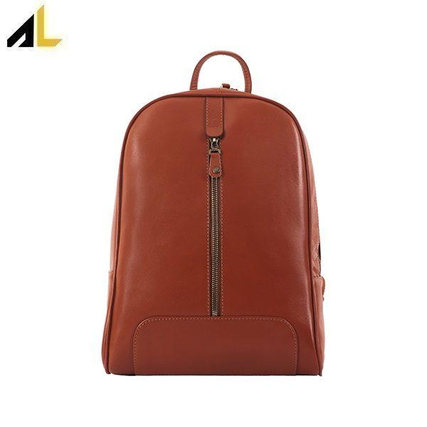 کیف چرم - چرم آرتان - کوله پشتی کد ALZ076